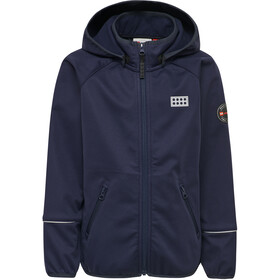 LEGO wear Sam 200 Veste Softshell Enfant, dark navy